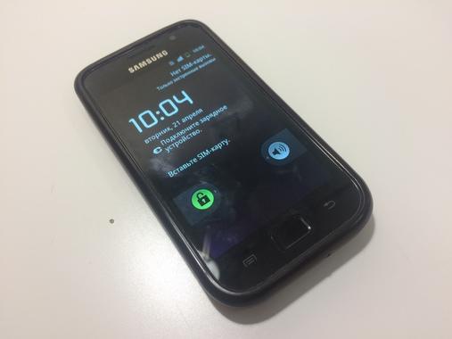 Смартфон Samsung Galaxy S GT-I9000
