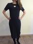 Черное облегающее платье, ASOS