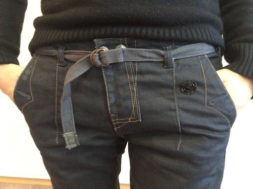 Стильные темно-синие джинсы G-Star RAW