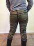 Дизайнерские джинсы золотого цвета, OneTeaSpoon