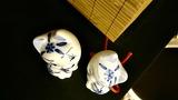 Статуетки Закохані Котики, Делфтський фарфор, розфарбовані вручну