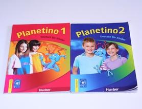 Підручники з німецької мови для дітей Planetino