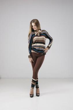 Костюм - светр, легінси, шарф, гетри