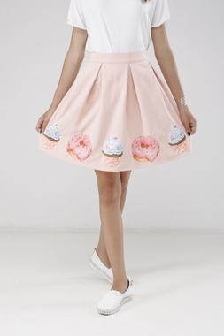 Спідниця жіноча з пончиками Жіночий одяг  69454bfb3b0a6