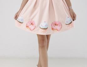 Спідниця жіноча з пончиками