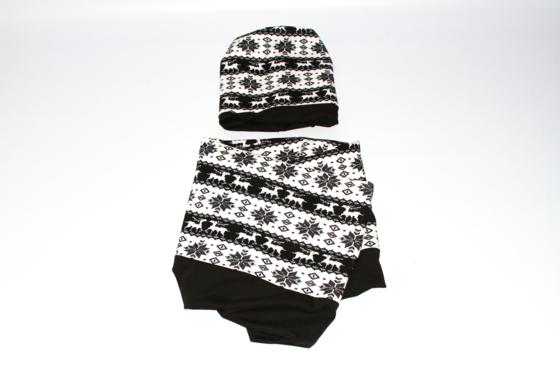 Стильний набір - шапки та шарф-снуд