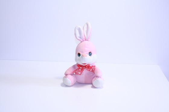 """М'яка іграшка """"Рожевий зайчик"""""""