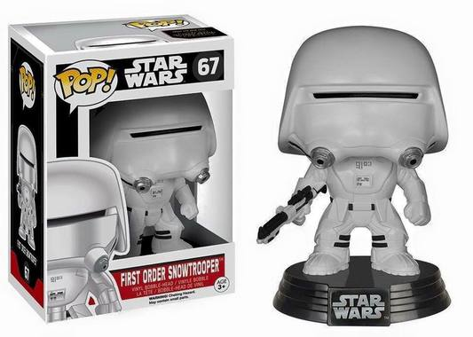 фігурка башкотряс Funko Pop! Star Wars First Order Snowtrooper, нова