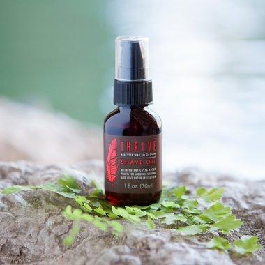 Натуральна олія для гоління Thrive Shave Oil for Men, 30 мл.