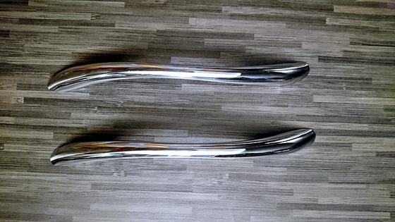 Ручки-скоби для меблів хром, 2 шт.