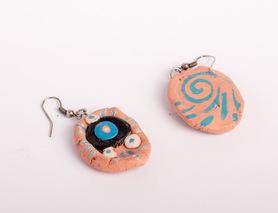 Сережки сакральні (кераміка)