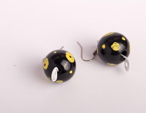 Сережки з краплинками