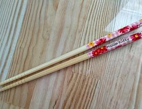 Бамбукові палички для їжі Hello Kitty, оригінальний Sanrio