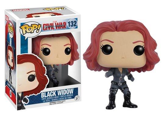 Башкотряс Funko Pop! Black Widow Чорна Вдова, новий