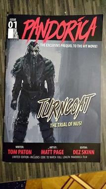 Комікс Pandorica Turncoat випуск 01, новий, англ.