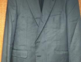 Пиджак Арбер (Arber) (синий, мелкая полоска)