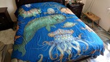 Підковдра Sharp Shirter Sea Creatures Duvet Cover, 223x223 см.
