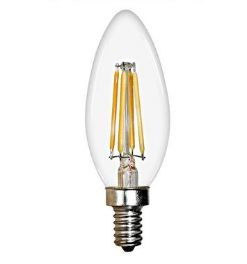 LED лампа едісона ретро свічка Lighting Family C35 4W 2700K 110 вольт