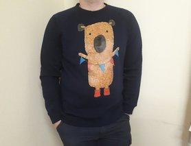 Чоловічий світшот з Ведмедиком