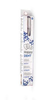 Зубна щітка Happy Dent ВІДБІЛЮЮЧА