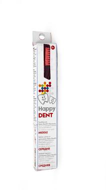 Зубна щітка Happy Dent зі щетинами Stain Devil