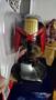 Шолом Судді Дредда Judge Dredd Helmet на підставці + Вінілова фігурка Cult Vinyl Dredd Суддя Дредд, нова
