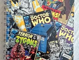 Спіральний блокнот Doctor Who Доктор Хто, новий