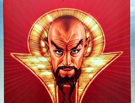 """Невеликий плакат Мінг Ming з """"Флеш Гордон"""" Flash Gordon"""