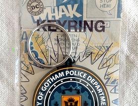 Брелок City of Gotham Police Department жетон Поліція Готема, новий