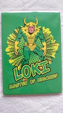 Магнітик Локі Loki Master of Mischief, новий