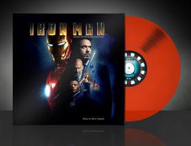 """Платівка із саундтреком """"Залізної Людини"""" Iron Man Soundtrack, нова"""