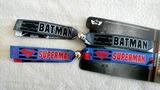 Браслети-стрічки Бетмен та Супермен Batman v Superman