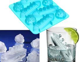 """Формочки для льоду """"Титанік"""" та айсберг"""