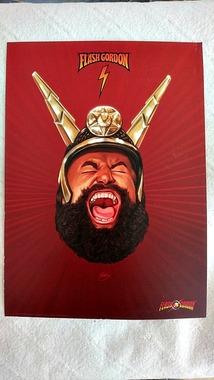 Принт на картоні Принц Вултан Prince Vultan з Флеш Гордон Flash Gordon
