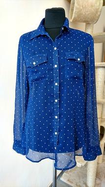 Шифонова сорочка Hadley від Abercrombie & Fitch, оригінал