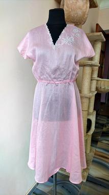 Напівпрозора вінтажна сукня з вишивкою