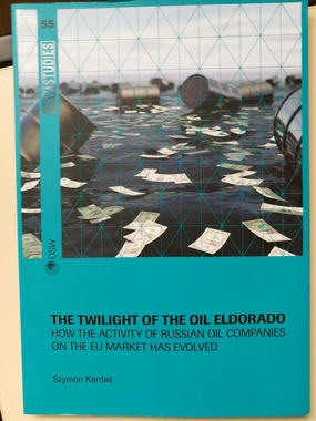 "Дослідження польської фабрики думок OSW ""The twilight of the oil eldorado. How the activity of russian oil companies on the EU market has evolved"