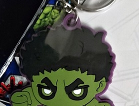 Брелок Avengers Hulk Месники Халк, новий