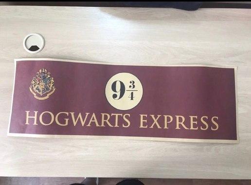 Плакат Хогвардс / Хогвардс Експресс / Гаррі Поттер