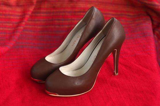 Туфлі коричнєві