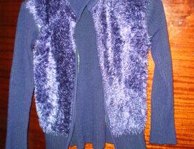 Фіолетова кофта
