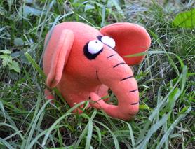 Слоник-оранжевое настроение