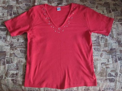 Женская футболка размер 46-48
